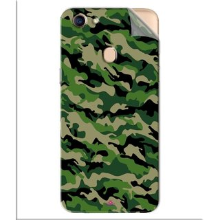 Snooky Printed Military Camouflage Pattern Pvc Vinyl Mobile Skin Sticker For Oppo F5