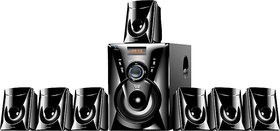 Ikall TA 777 Portable Bluetooth Home Audio Speaker  Black  With 1 Year Manufacturer Warranty
