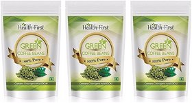 Health First Green Coffee Beans Decaffeinated  Unroaste - 138779225