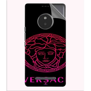Snooky Printed Pink Versace Pvc Vinyl Mobile Skin Sticker For Micromax Yu Yunique