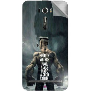 Snooky Printed popeye the sailor man Pvc Vinyl Mobile Skin Sticker For Asus Zenfone 2 Laser ZE601KL