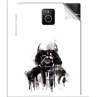 Snooky Printed star wars white Pvc Vinyl Mobile Skin Sticker For BlackBerry Passport
