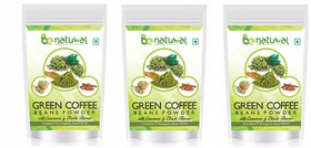 Be Natural Organic Green Coffee Beans Flavored Powder F - 138786019