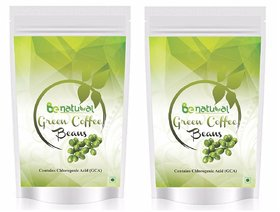 Pure Organic Green Coffee Beans By Be Natural , Decaffe