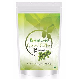 Pure Organic Green Coffee Beans by Be natural , Decaffeinated  Unroasted Arabica Coffee beans Weight Management 200 gm