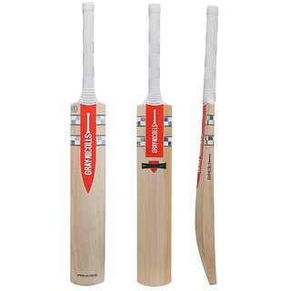 Bogan-Gray Nicolas Prestige English Willow Cricket Bat (Color May Vary)(COVER INCLUDED)