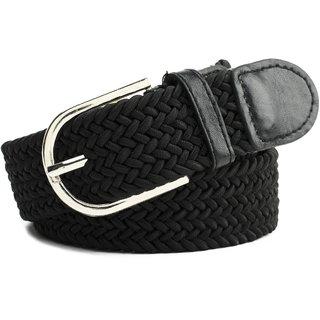 Winsome Deal Black Canvas Belt For Men