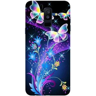 arrives 6a6ce 44bf5 Buy Back Cover For Samsung Galaxy A6 Plus (Multicolor, Dual ...
