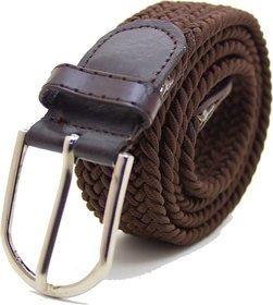 Women Brown Streachable Belt