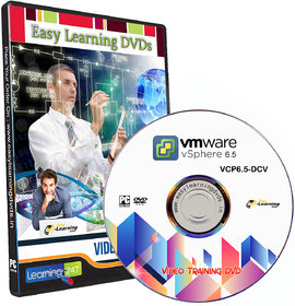 VMware vSphere 6.5 (VCP6.5-DCV) Video Training Tutorial DVD