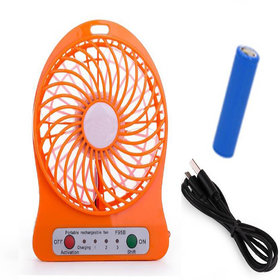 Mini Rechargeable Fan With Usb And Battery