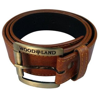 Woodland Men Casual Brown Belt
