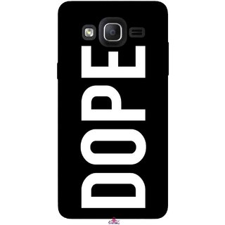 Snooky Printed 956,Black Dope Mobile Back Cover of Samsung Galaxy On7 - Multi