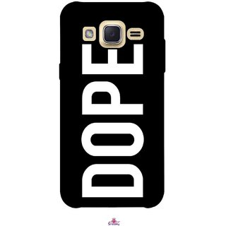 Snooky Printed 956,Black Dope Mobile Back Cover of Samsung Galaxy j2 - Multi
