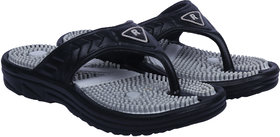 Casual Slipper For Men (Black - Gray)
