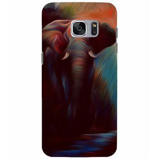 Printgasm Samsung Galaxy S7 printed back hard cover/case,  Matte finish, premium 3D printed, designer case