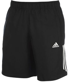 Adidas Lycra Black Running Shorts for Boy, Men