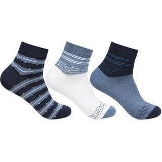 Bonjour Scottish Collection Ankle Socks- Pack of 3
