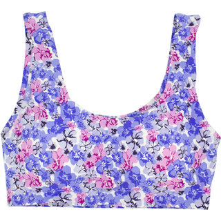dccd1e99c0 Buy Simply Me New Women s floral bralette  bra Seamless Padded. (BLUE)  Online - Get 35% Off