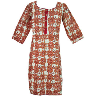 K T Collection Cotton Maternity Feeding Kurti With Vertical Zippers ktmtrn26