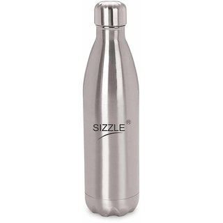 Sizzle Hot Cold Vaccum Flask 500 ml Bottle Stainless Steel