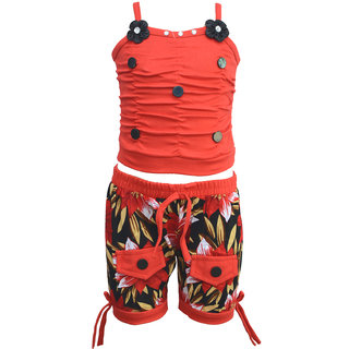 Eazy Trendz Exclusive Baby Girls Dress Collection of Top and Bottom Set Pack of 1