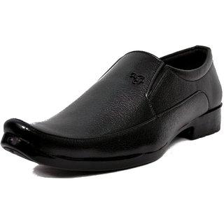 Niti Fashion Men's Stylish premium Quality Black Slip on Formal Shoe
