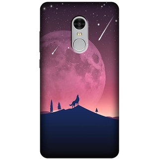 Soft Silicon Printed Back Cover For Redmi Note 4