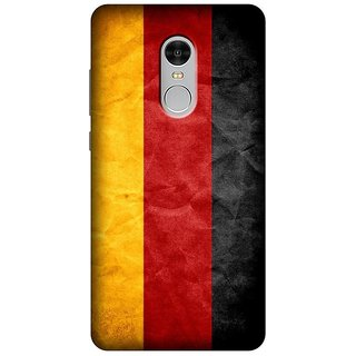 Soft Silicon Printed Designer Back Cover- For Redmi Note 4