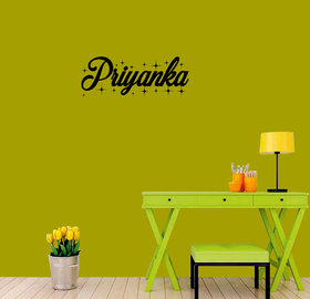 meSleep Personalized Wall Sticker for Priyanka
