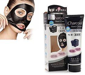 Charcoal Anti-Blackhead Suction Mask Cream - 130 Grams
