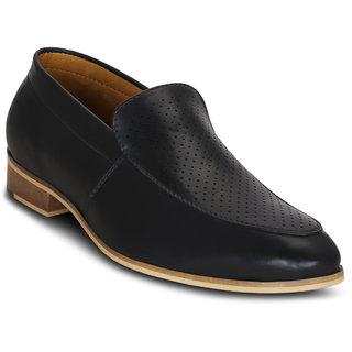 Kielz-Black-Slip-On-Mens-Shoes