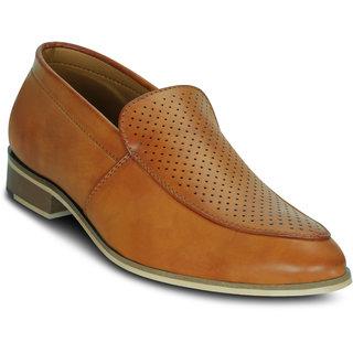 Kielz-Tan-Slip-On-Mens-Shoes
