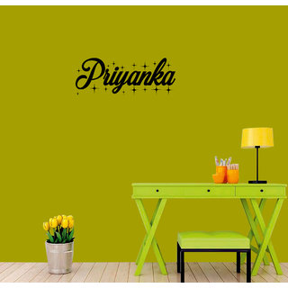 meSleep Personalized Wall Sticker for Priyanka