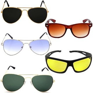 Davidson Combo of aviators and Wayfarers.