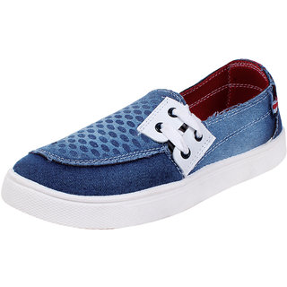 Skymate Blue Casual Stylish Denim Shoes For Women's