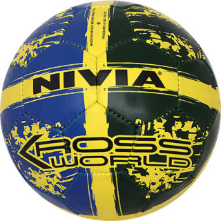 NIVIA FINEST KROSS WORLD FOOTBALL SIZE 5 (RUBBERIZED-STITCHED)