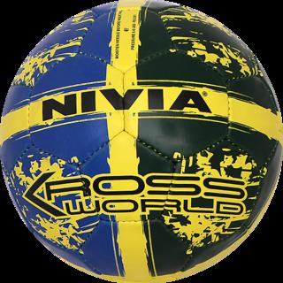 10%off NIVIA FINEST KROSS WORLD FOOTBALL SIZE 5 (RUBBERIZED-STITCHED) 5986dab9aa565