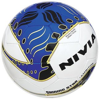 NIVIA Shining Star Ambition Football  FIFA INSPECTED  SIZE 5