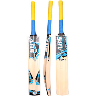 ABS - TOP HIGH English Willow Cricket Bat (Color May Vary)(COVER INCLUDED)