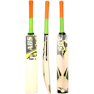 ABS TOP- GO English Willow Cricket Bat (Color May Vary)(COVER INCLUDED)