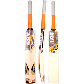 ABS FIT TOP English Willow Cricket Bat (Color May Vary)(COVER INCLUDED)