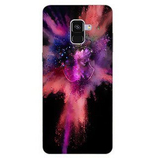 Printgasm Samsung Galaxy A8 Plus 2018 printed back hard cover/case,  Matte finish, premium 3D printed, designer case