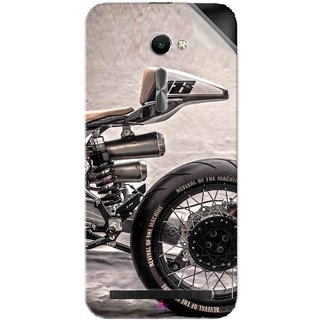 Snooky Printed XTR Pepo Silver Bullet MKII BMW R100 RS motorcycle Pvc Vinyl Mobile Skin Sticker For Asus Zenfone 2 ZE500CL 5.0