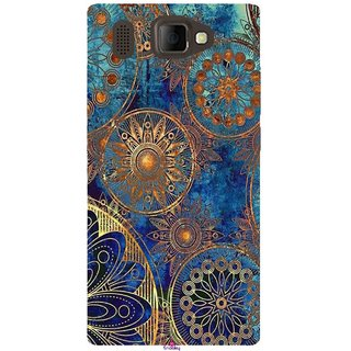 Snooky Printed 1049,mandala Mobile Back Cover of Panasonic P66 Mega - Multi