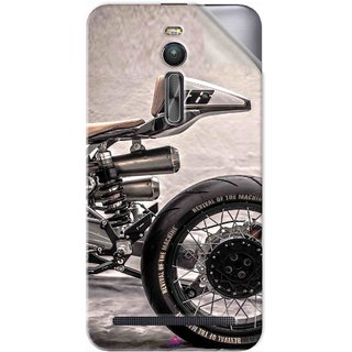 Snooky Printed XTR Pepo Silver Bullet MKII BMW R100 RS motorcycle Pvc Vinyl Mobile Skin Sticker For Asus Zenfone 2 ZE551ML