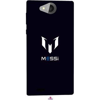 Snooky Printed 1053,Messi Football Lover Mobile Back Cover of Xolo Prime - Multi