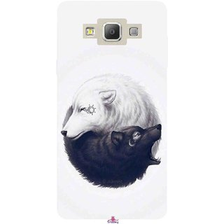 Snooky Printed 1132,Yin Yang White Mobile Back Cover of Samsung Galaxy A5 - Multi