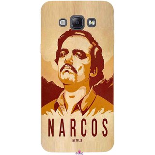 Snooky Printed 1063,Narcos Mobile Back Cover of Samsung Galaxy A8 - Multi
