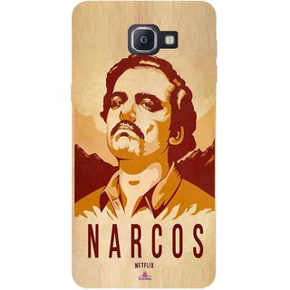 Snooky Printed 1063,Narcos Mobile Back Cover of Samsung Galaxy A9 Pro - Multi
